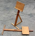 plans for wood music stand
